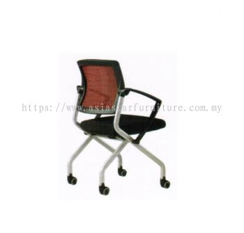 AVA FOLDING MESH CHAIR (Back View)