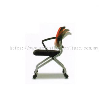 AVA FOLDING MESH CHAIR (SideView)