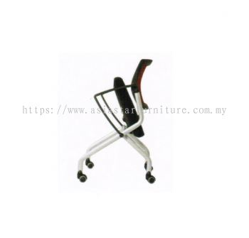AVA FOLDING MESH CHAIR (Side View 3)