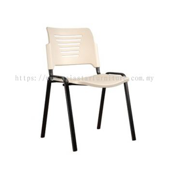 AEXIS PP CHAIR C/W 4 LEGGED EPOXY BLACK METAL BASE ACL 56