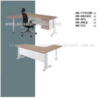 MR L-Shape Table Set E