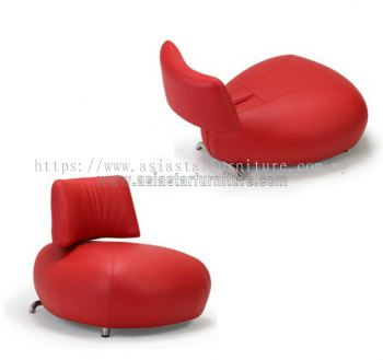 AS 0128 PU OR LEATHER ADJUSTABLE CHAIR WITH STAINLESS STEEL LEG