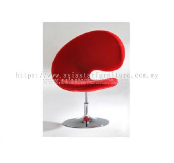 AS G102 MICROFIBRE CHAIR WITH CHROME BASE