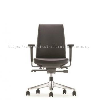 CLOVER LOW BACK CHAIR WITH ALUMINIUM BASE ACV 6112L