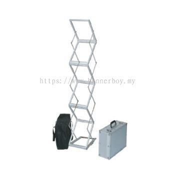Acrylic Brochure Stand / ZigZag Stand / Newspaper Magazine Stand