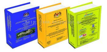 Hard cover binding ( buffalo card )