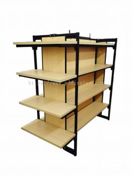 230083A-OPPA ISLAND RACK C/W 1 SIDE END SHELF