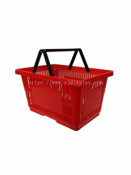 80111-SHOPPING BASKET L-RED