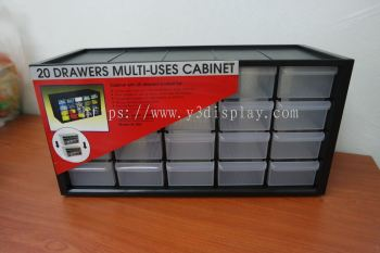 80401 M-20DRAWER PART CABINET