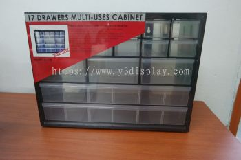 80403 M-17DRAWER PART CABINET