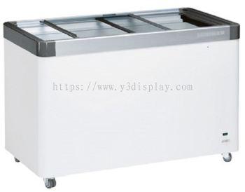 64102-LIEBHERR Flat Sliding Glass Door Chest Freezer (369/280)L EFE-3802