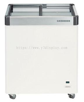 64103-LIEBHERR Flat Sliding Glass Door Chest Freezer (220/163)L EFE-2202