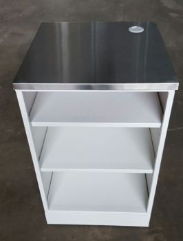 22096-TABLE 2-545X545X925H MM-S.STEEL TOP