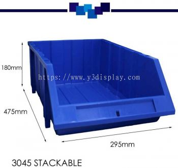 80394-3045 STACKABLE TRAY-PC(18HX30LX45D CM)