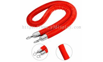 Red Velvat Rope For Q-up Stand-1.5M
