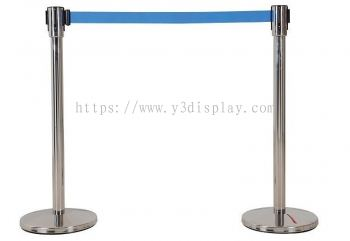 17116-Q-up Stand Retractable-Blue