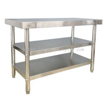 64412-S.Steel 3Tier Work table 1065x450x800mm