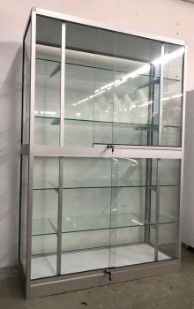 "880171-Glass Showcase-6'Hx4'Lx18""D"