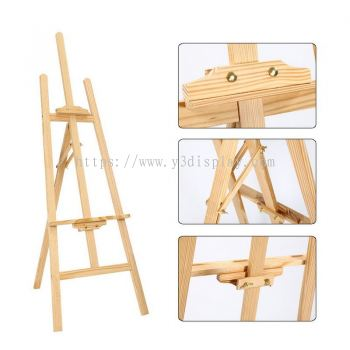 150cm (H) - 117106 Pine Wood Easel Stand Art