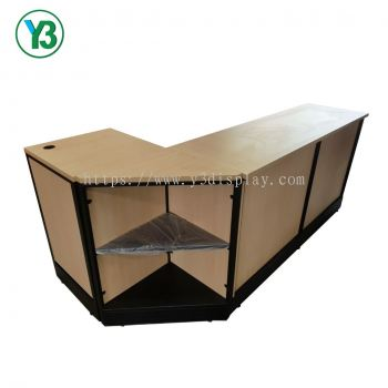 Oppa Cashier Counter with Ecr Stand & Triangle counter