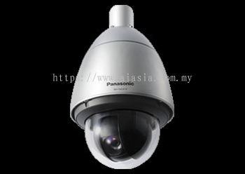 PANASONIC SUPER DYNAMIC WEATHER RESISTANT HD PTZ DOME NETWORK CAMERA.WV-SW397B