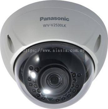 PANASONIC FULL HD WEATHERPROOF DOME NETWORK CAMERA.WV-V2530LK