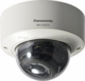 PANASONIC SUPER DYNAMIC HD VANDAL RESISTANT DOME NETWORK CAMERA.WV-S2231L