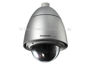 PANASONIC SUPER DYNAMIC WEATHER RESISTANT HD DOME NETWORK CAMERA.WV-SW395