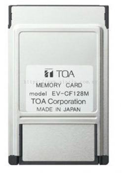 TOA MEMORY CARD EV-CF128M