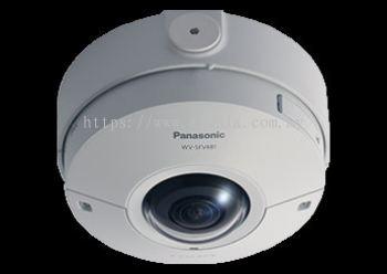 PANASONIC 360-DEGREE VANDAL RESISTANT OUTDOOR DOME 9 MEGAPIXEL NETWORK CAMERA.WV-SFV481