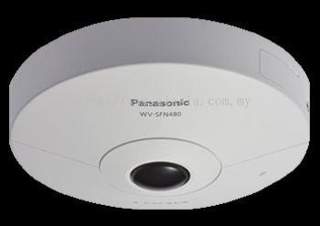 PANASONIC 360-DEGREE INDOOR DOME 9 MEGAPIXEL NETWORK CAMERA.WV-SFN480