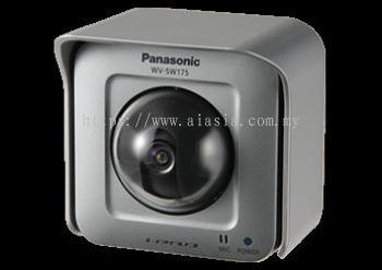PANASONIC OUTDOOR PANTING-TILTING HD NETWORK CAMERA.WV-SW175