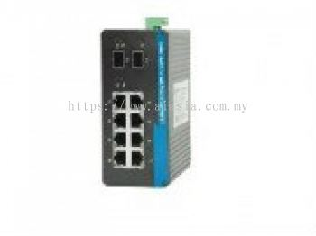 CYNICS 8 PORT + 2 PORT SFP UNMANAGED FULL GIGABIT NETWORK SWITCH.IGS208