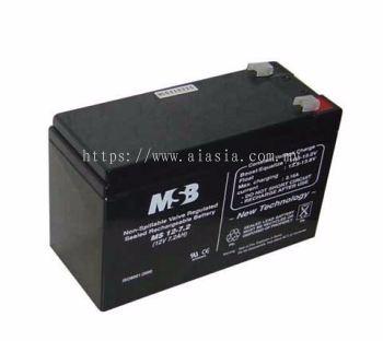 Lead Acid Maintenance Free Battery (4.5Ah, 7Ah, 12Ah)