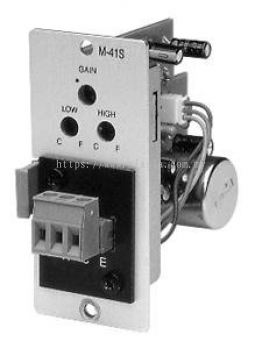 M-41S.Microphone Input with Mute-Send