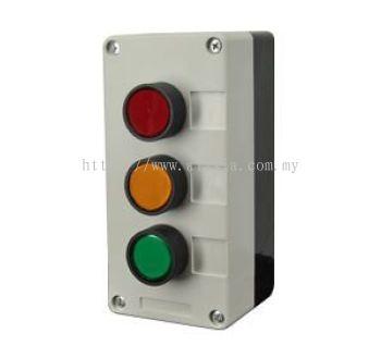 BR_PB3. MAG Triple Push Button