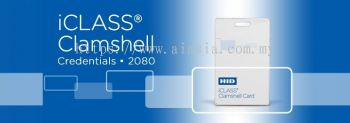 2080 iCLASS Clamshell Card
