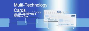 252, 262 & 263 iCLASS + MIFARE Classic or MIFARE DESFire EV1 + Prox