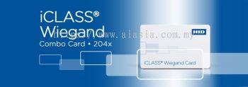 204x iCLASS + Wiegand Card
