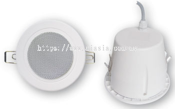 "CS343.4"" 6W 100V LINE WEATHERPROOF CEILING SPEAKER"