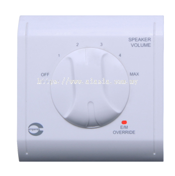 VC8000 SERIES [ VOLUME CONTROLLERS (86 X 86 mm PANEL ]