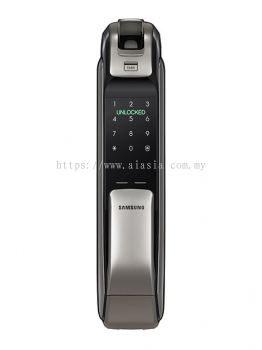 SHP-DP728.World 1st Biometric PUSH PULL door lock concept