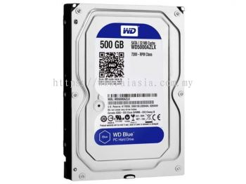 WD Blue 500GB Desktop Hard Disk Drive WD5000AZLX