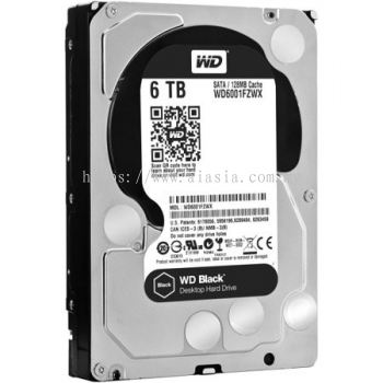 WD Black 6TB Performance Desktop Hard Drive WD6001FZWX