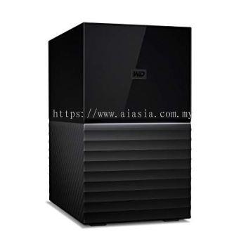 """WD MY BOOK DUO 3.5"""" USB3.0 8TB Personal Storage - WDBFBE0080JBK-SESN"""