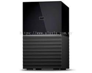 """WD MY BOOK DUO 3.5"""" USB3.0 16TB Personal Storage - WDBFBE0160JBK-SESN"""