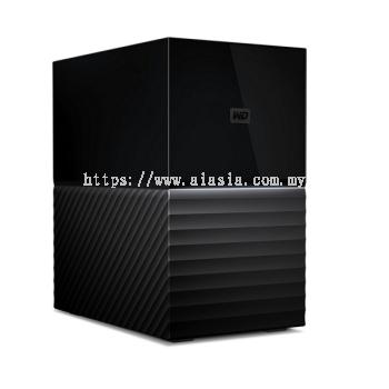 """WD MY BOOK DUO 3.5"""" USB3.0 20TB Personal Storage - WDBFBE0200JBK-SESN"""