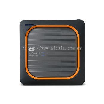 WD MY PASSPORT WIRELESS SSD 1TB GRAY - WDBAMJ0010BGY-PESN