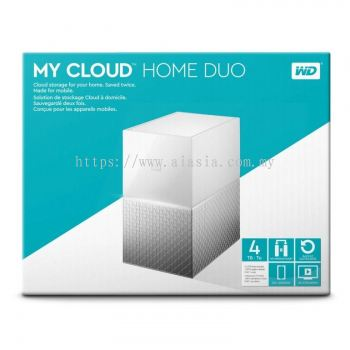 WD MYCLOUD HOME DUO 12TB - WDBMUT0120JWT-SESN