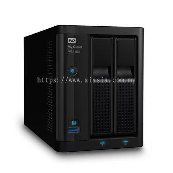 WD MY CLOUD PR2100 16TB - WDBBCL0160JBK-SESN